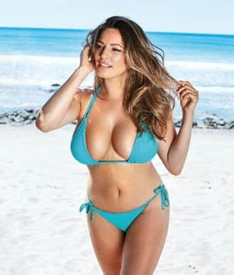 kelly brook official 2017 kelly brook 2017 calendar official 09 gotceleb