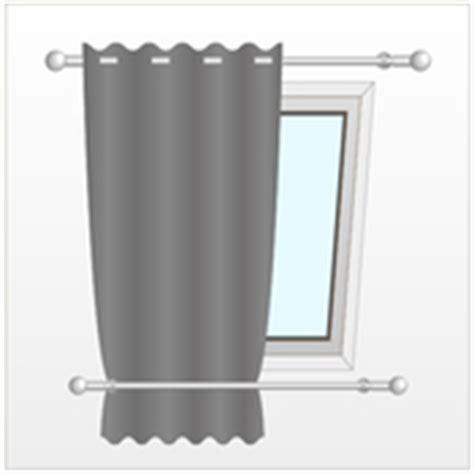 Comment Installer Des Doubles Rideaux by Installer Un Rideau Sur Une Fen 234 Tre De Toit Rideaux