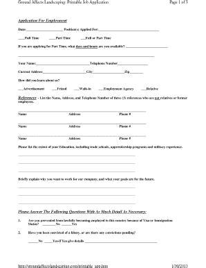 quiznos printable job application free printable job application job applications forms