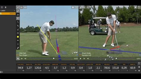 justin rose iron swing justin rose swing with trackman data youtube