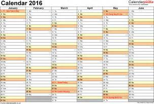 Holiday Planner Template Staff Holiday Planner Excel Template 2016 Calendar