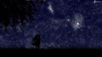 sternenhimmel le silueta de una pareja