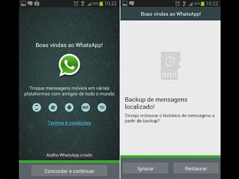 tutorial clonar whatsapp tutorial como recuperar conversas apagadas no whatsap