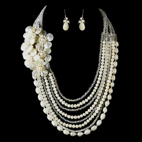 Brautschmuck Set by Ivory Pearl Austrian Wedding Jewelry