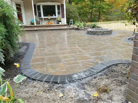 outdoor fireplace contractor baron landscaping