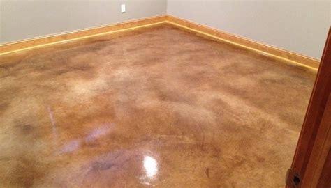 Floor Skim Coat by Interior Concrete Floors St Paul Minneapolis Mn Acid