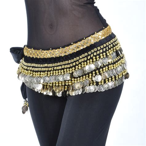 new belly costumes hip scarf belt chain 248pcs