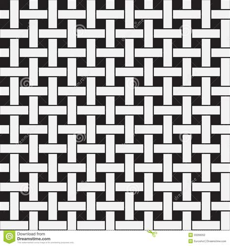 ai weave pattern plane weave black and white vector seamless pattern
