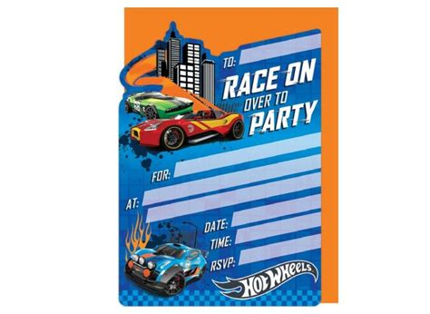 printable birthday cards hot wheels amazing hot wheel birthday invitations pictures