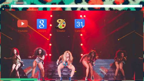 live themes chrome 13 beautiful beyonc 233 chrome themes for real fans of the
