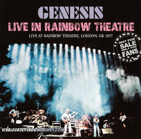 genesis horizons genesis 77 live at the rainbow theatre 1 gennaio