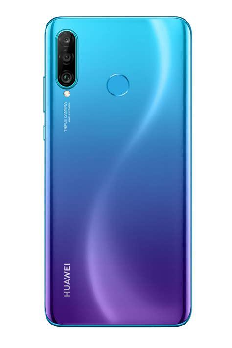 huawei p30 lite bleu smartphone boulanger