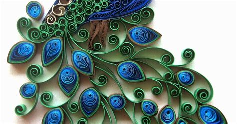 paper quilling peacock feather tutorial daydreams quilled peacock embroidery design inspired