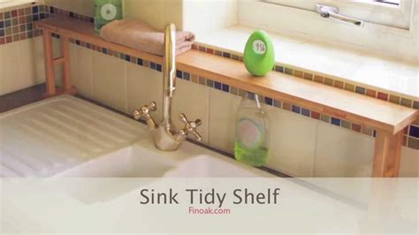 Rönnskär Sink Shelf by 1364 Bamboo Sink Shelf Sink Tidy