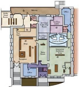 exhibit floor plan exhibit floorplan titanic experience cobh queenstown ireland exhibit designs pinterest