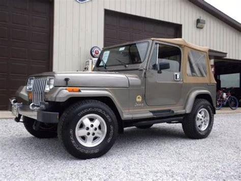 jeep wrangler 1989 1989 jeep wrangler for sale carsforsale