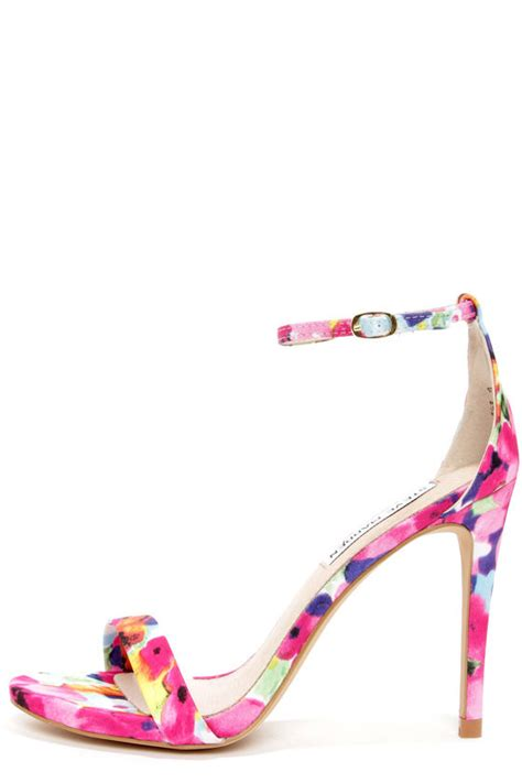Or Not Ravels Big Flower Shoes by Steve Madden Stecy Floral Print Shoes Ankle