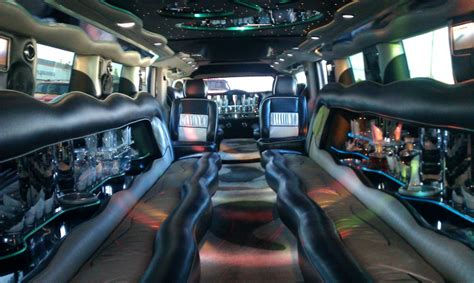 limousine hummer inside hummer h2 limo in orange county