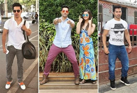 varun dhawan new style dresses beat the heat of summer with celebrities styles looksgud in