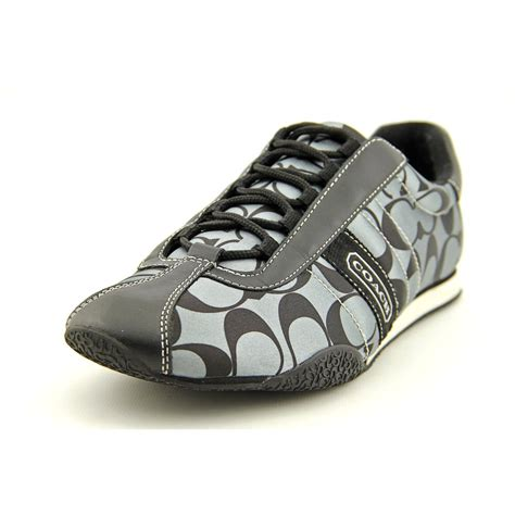 coach quot kirby quot black silver signature sneakers tennis