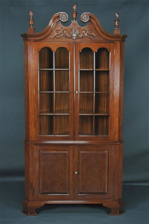 dining room corner cabinet colonial style corner mahogany dining room cabinet k ndrc