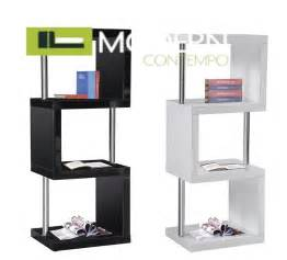 chrome bookshelves quot modern white or blacklacquer curio bookcase with quot
