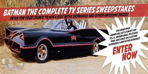 Tv Show Sweepstakes - batman the complete tv series sweepstakes sweepstakesbible