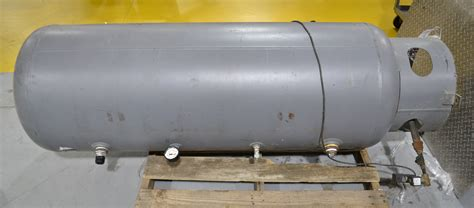 100 Gallon Air Compressor Tank - approximately 100 gallon receiving tank for air compressor
