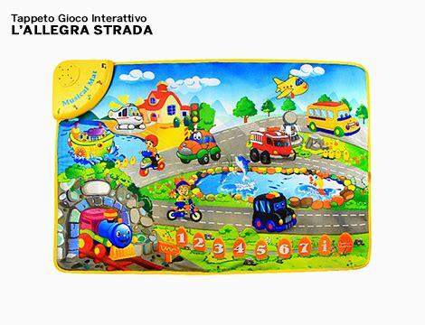 tappeto interattivo per bambini offerta shopping tappeto gioco interattivo groupalia