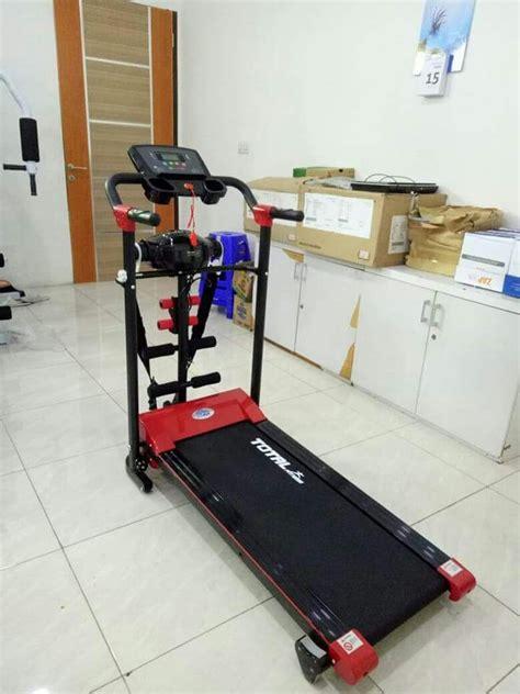 Treadmill 4 Fungsi jual treadmill elektrik terbaru 1 5 hp 4 fungsi