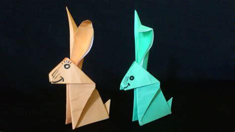 membuat origami kelinci lucu origami binatang youtube