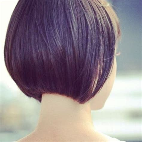 how to cut hair so it stacks beautiful bobs and smooth on pinterest