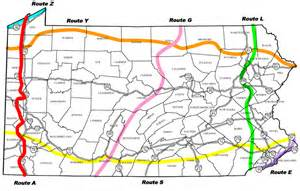 Map Bike Route by Bicyclepa Route A