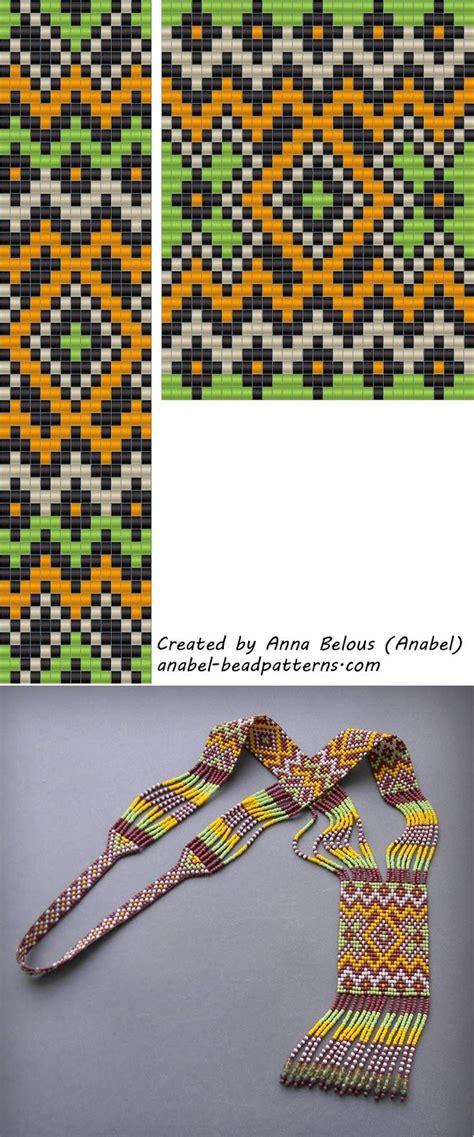 loom patterns loom pattern free perles tissage m 233 tier