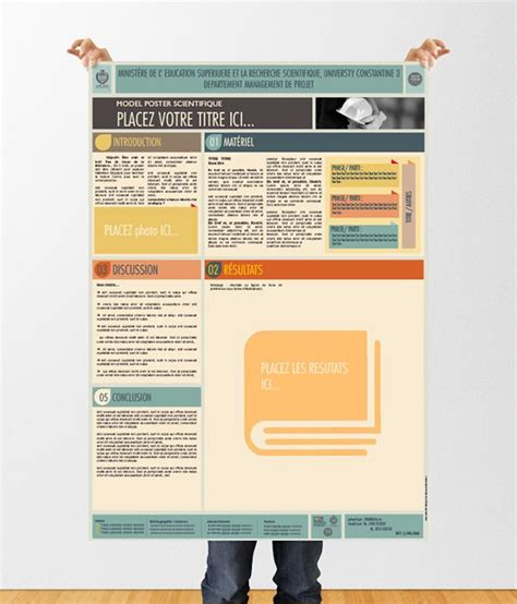 a1 powerpoint poster template images templates example free download