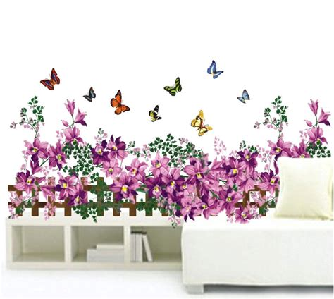 Diy Home Decor Removable Wall Sticker Art Mural Decal Garden Wall Decal