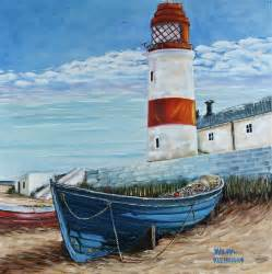 Wall Mural Stencil Kits lighthouse by wilma kleinhans