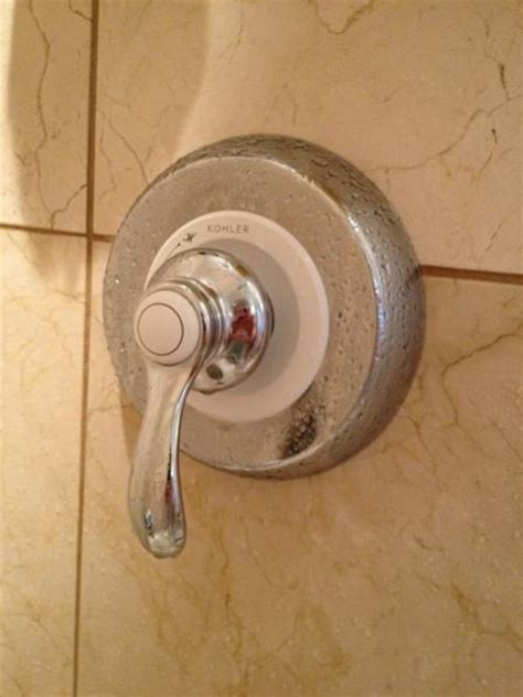 How To Install Kohler Shower Faucet by Remove Kohler Shower Faucet Doityourself Community