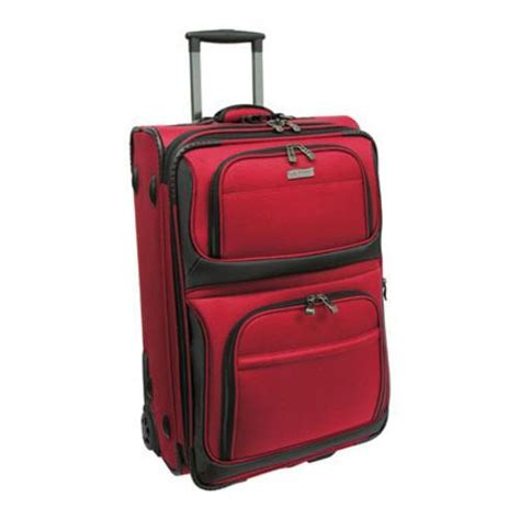 rugged carry on luggage traveler s choice conventional ii 22 inch rugged carry on wheeled upright overstock