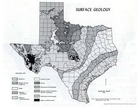 texas geology map edwards plateau ecology physical environment
