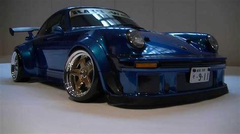 porsche 930 turbo blue porsche 930 turbo rwb 1 10 youtube