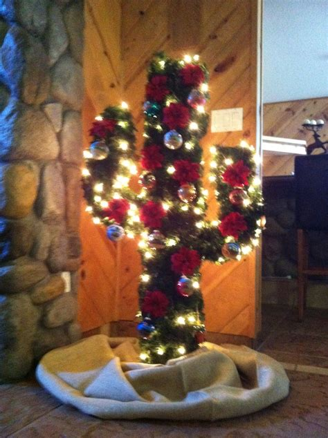 cactus christmas tree texas pinterest