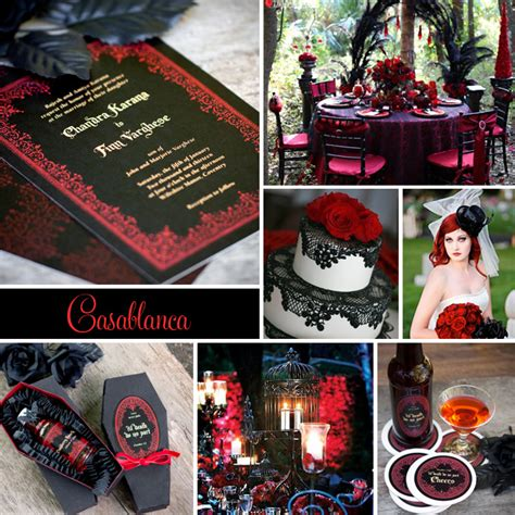 blogger themes gothic wedding inspiration casablanca goth inspired evermine