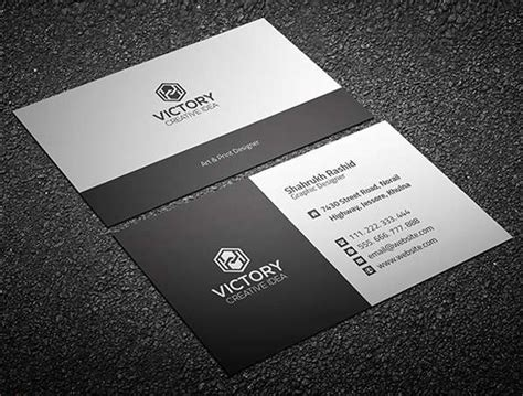 personal business card template photoshop 15 free business cards psd templates freakify