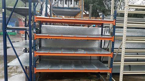 scaffali magazzino usati scaffalature usate con ripiano