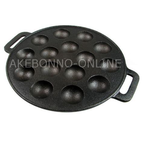 Panggangan Takoyaki peralatan dapur akebonno cetakan takoyaki manual