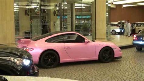 pink porsche 911 pink porsche 911 carrera youtube