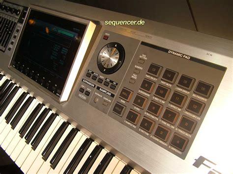 Keyboard Roland G7 roland fantom g6 fantom g7 fantom g8 digital synthesizer advanced sequencer