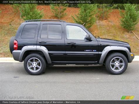 2003 Jeep Liberty Freedom Edition Specs 2003 Jeep Liberty Freedom Edition 4x4 In Black Clearcoat