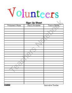 28 church nursery sign in sheet template 1000 images